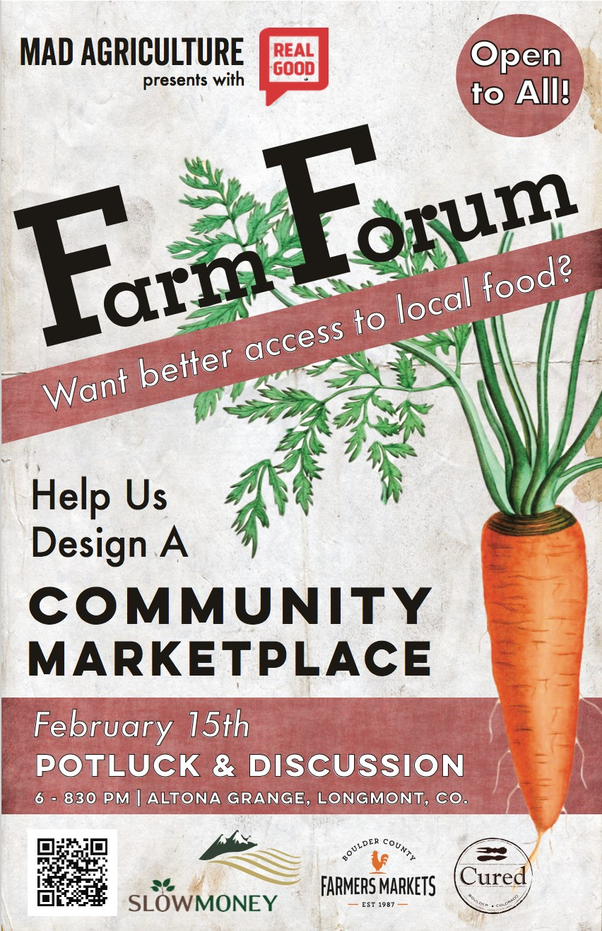 Open to All: Farm Forum