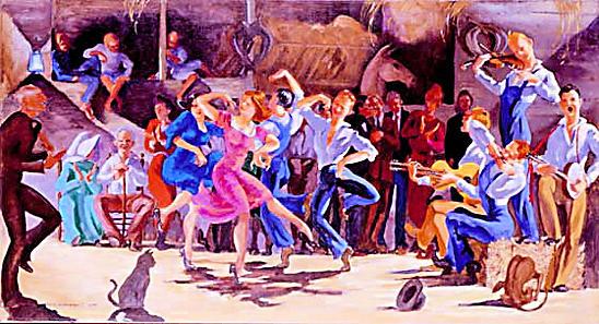 Spring Folk Dance April 13th, 7pm-9pm